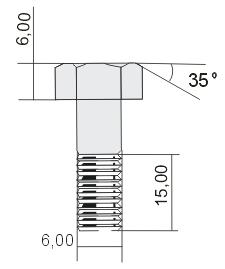 Примеры простановки размеров